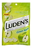 Ludens Green Apple Cough Drops, 1 Pack of 25 Throat Drops