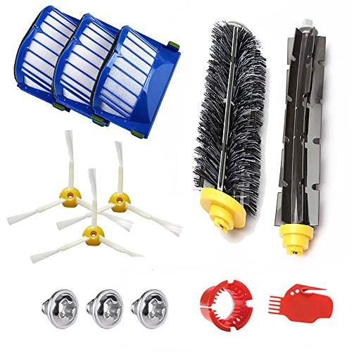Anewise Replacement Kit for iRobot Roomba 585 595 600 610 620 650 Series Vacuum Cleaner Accessories Parts Kit
