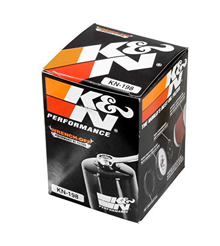 (K&N KN-198 Polaris/Victory High Performance Oil Filter)