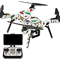 Skin For 3DR Solo Drone – Bright Lures | MightySkins Protective, Durable, and Unique Vinyl Decal wrap cover | Easy To Apply, Remove, and Change Styles | Made in the USA