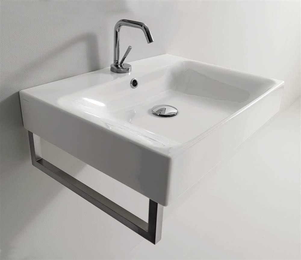 Kerasan Cento Wall Mounted Vessel Bathroom Sink Vessel Sinks