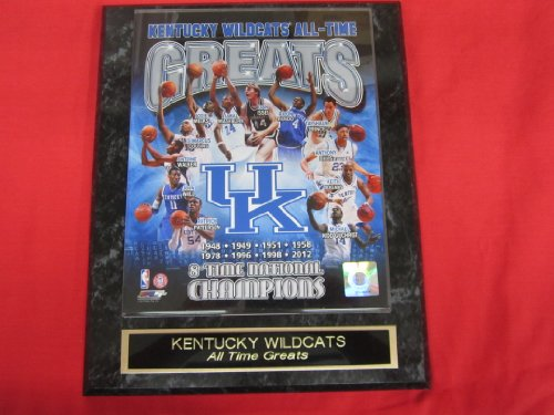 Kentucky Wildcats All Time Greats NCAA Engraved Collector Plaque w/8x10 Photo