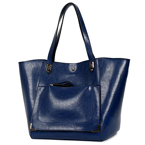 Handbags Lady Top Bag Bag for A blue Essfeeni Purse Tote Shoulder Handle Satchel Women qYwxaIPd