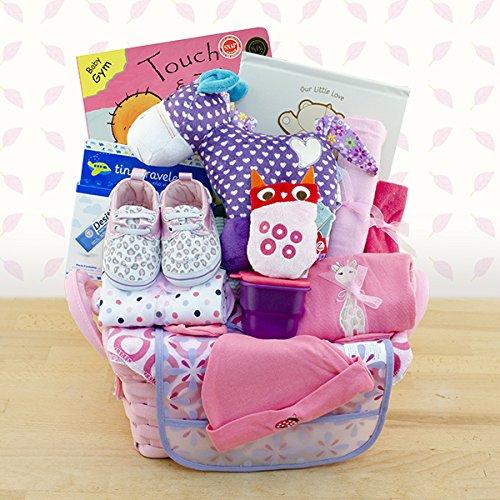Pampered Girl Gift Basket (Washcloth Holiday)