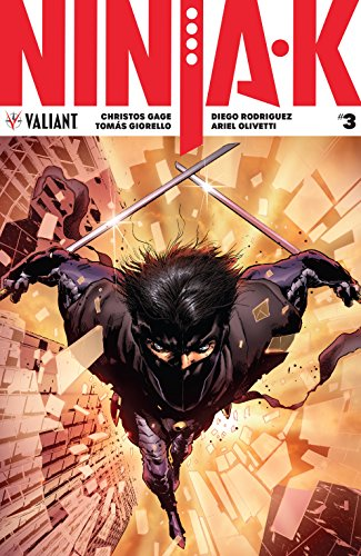 Amazon.com: Ninja-K #3 eBook: Christos N. Gage, Trevor ...