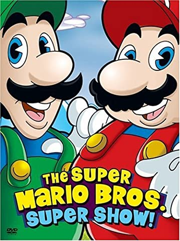 The Super Mario Bros. Super Show! (The Steve Harvey Show Dvd)