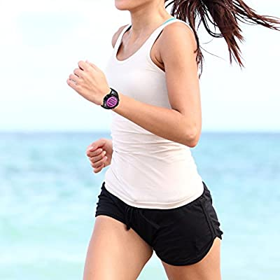 Digital Multifunction Sports Wrist Watch - Smart Fit Classic Men Women Sport Running Training Fitness Gear Tracker w/ Sleep Monitor, Pedometer, Alarm, Stopwatch, Backlight