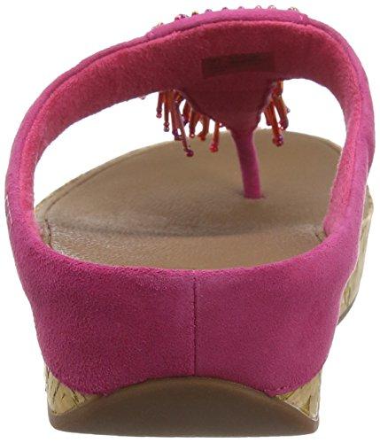 Spuntate Cha Donna Scarpe Pink Bubblegum Cha FitFlop 0vwTqp0