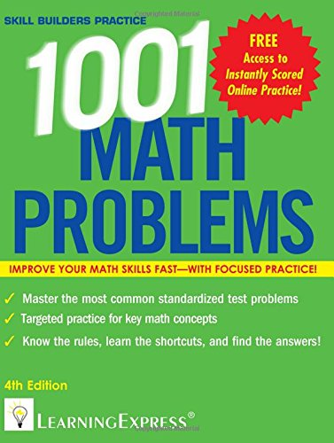 1,001 Math Problems (1001 Series)