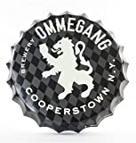 Show your support for Ommegang with this bottle cap sign. 16.5""