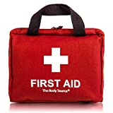 90 Pieces First Aid Kit - All-Purpose with Premium Medical Supplies and Soft Case for Home, Office, Business, Car, Camping and Travel