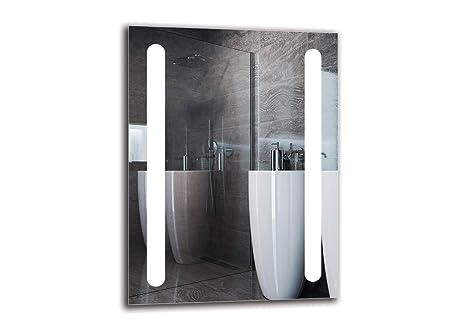 Led Spiegel Premium Spiegelmaßen 60x80 Cm Badspiegel Mit