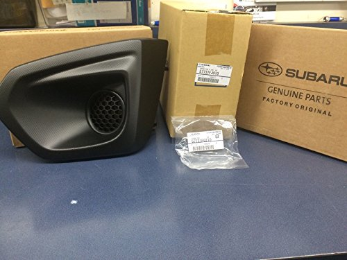 Fog Left Light Driver Assembly (2012-2014 Subaru Impreza Left Driver Fog Light Bezel & Cover Set BLACK OEM NEW)