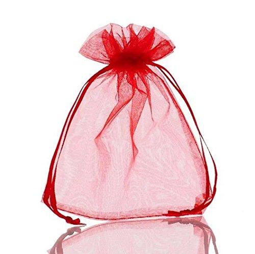Bolsas de organza para embalaje de joyas, pequeñas, con ...