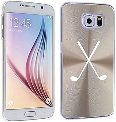 Samsung Galaxy S6 en carcasa de aluminio palos de Golf (oro ...