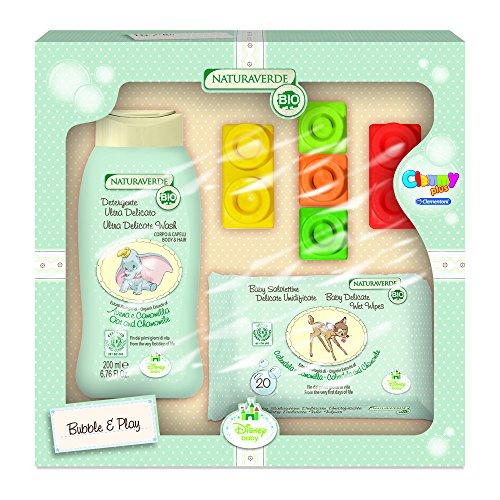 Disney Baby Bio Set de Baño de Bebé Dumbo y Bambi - 7 Piezas: Amazon.es: Salud y cuidado personal