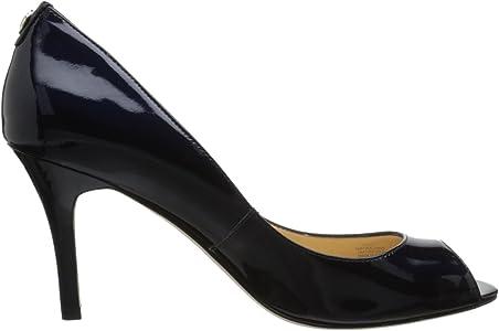2e271e875b Women's Cleo Peep-Toe Pump. Ivanka Trump Women's Cleo, Navy Patent, 7 M US
