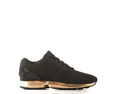 more photos cf432 cacba adidas zx flux copper metallic rose gold and black size 7.5 ...