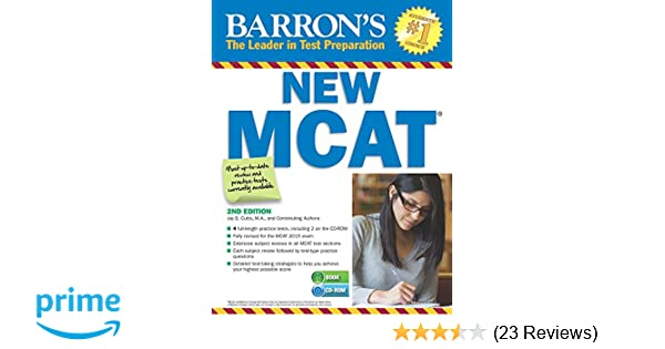 Barrons New Mcat With Cd Rom 2nd Edition 9781438074559 Medicine