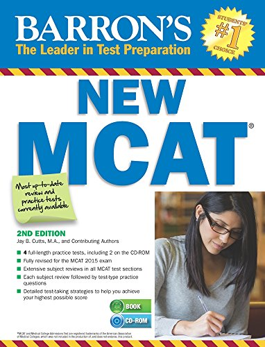Barron's New MCAT with CD-ROM, 2nd Edition