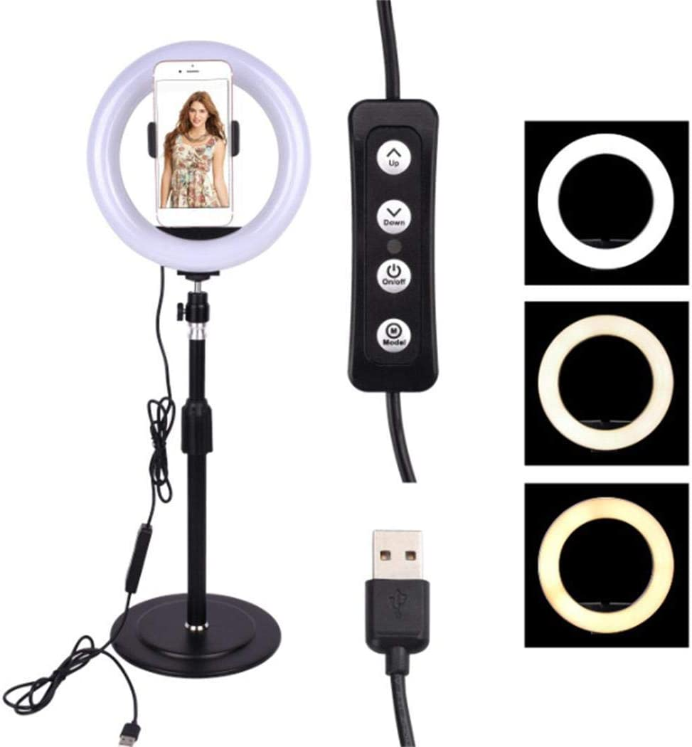 Cascat LED Ring Fill Light Dimmable Studio Photo Video Live Lamp Phone On-Camera Video Lights