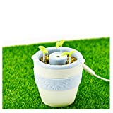 Essential Oil Diffuser, Ceramics Anion Potted Plant Aroma Cool Mist Humidifier for Office Home Bedroom Baby Room Study Yoga Spa