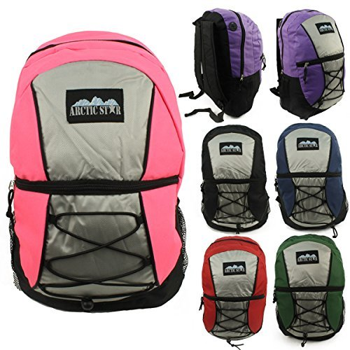 17'' Wholesale Padded Backpacks - Case of 24 by Arctic Star