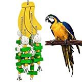 Schnappy Bird Knots Block Chewing Toys for Large&Extra Large Parrots (Style 2)