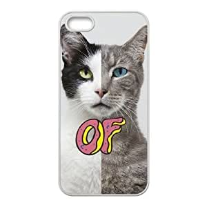 wugdiy New Fashion Cover Case for iPhone 5,5S with custom odd future