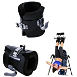 Carejoy Anti-Gravity Boots, Inversion Hanging Pull Up Boots Gym Fitness Equipment for Correcting Spine Posture, Relieving Back Pains, Improving your Strength, Balance, Flexibility and Endurance