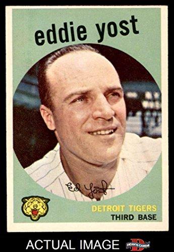 1959 Topps # 2 Eddie Yost Detroit Tigers (Baseball Card) ...