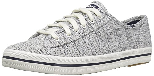 rt Woven Fashion Sneaker, Navy, 9 M US (Keds Lace Shoes)
