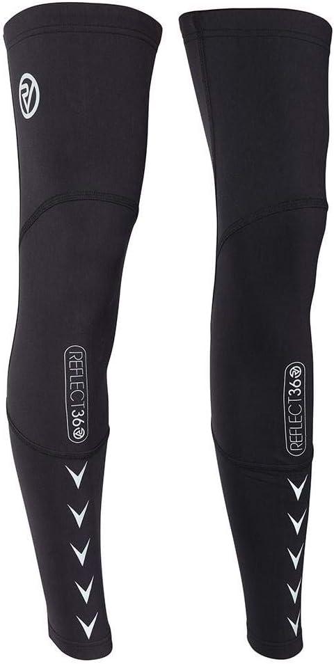Proviz Unisex REFLECT360 Grip Antideslizante Calentadores de piernas de Varias Estaciones con Detalles Reflectantes