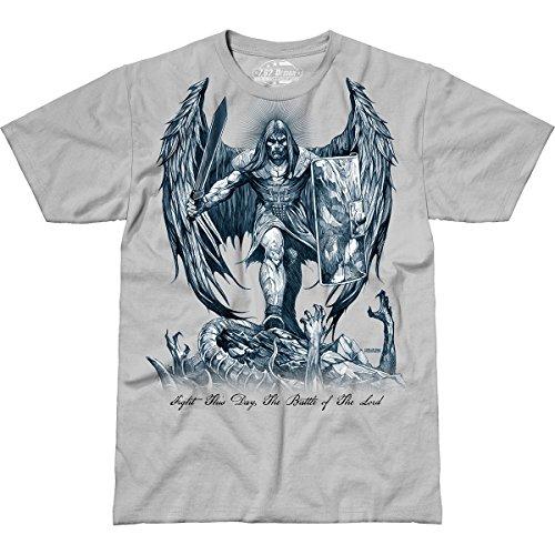 7.62 Design St. Michael 'Fight This Day' Men's Jumbo Print T-Shirt 2X
