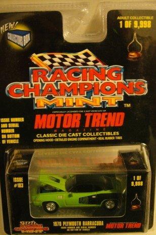 Racing Champions Mint Motor Trend Magazine 1987 Buick Grand National