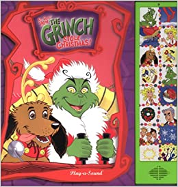 How the Grinch Stole Christmas Play-a-Sound Book: 9780785342632 ...