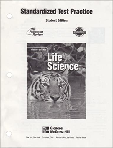Glencoe Science: Life Science, Standardized Test Practice, Student ...