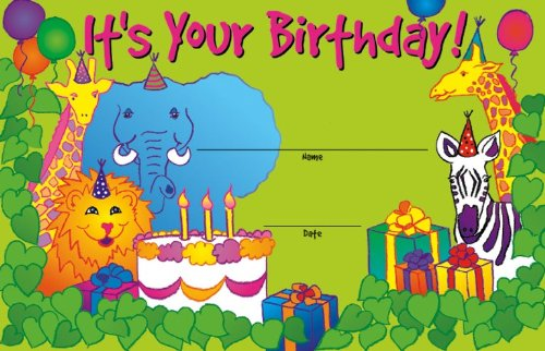 Eureka It's Your Birthday Recognition Awards (844230) - DISCONTINUED by Manufacturer ()