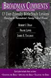 13 User-Friendly Bible Study Lessons 2000, Robert J. Dean, 0805412999