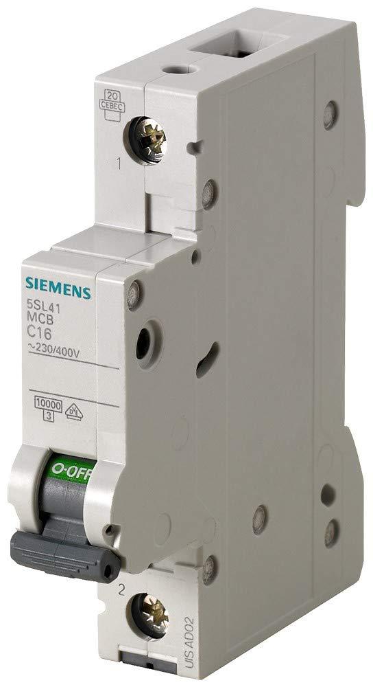 /Leitungsschutzschalter 10/kA curva-b 3-polig 16/A 70/mm Siemens 5sl4/