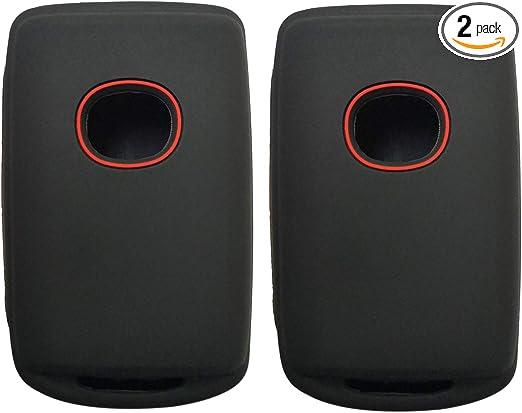 Soft TPU Key Case Fob Cover Glove Skin Jacket Keyless Entry Protector Fits for 2020 2019 Mazda 3 WAZSKE11D01 Blue