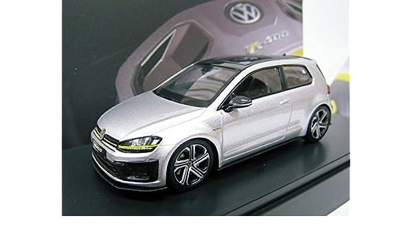 Amazon.com: VW custom 1/43 Volkswagen Golf R400 (Silver) 2015: Toys & Games