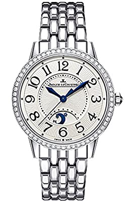 Jaeger LeCoultre Rendez-Vous Silver Dial Stainless Steel Diamond Ladies Watch Q3448120