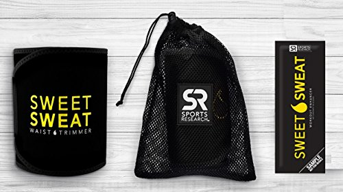 Large Product Image of Sweet Sweat Premium Waist Trimmer, for Men & Women. Includes Free Sample of Sweet Sweat Gel!