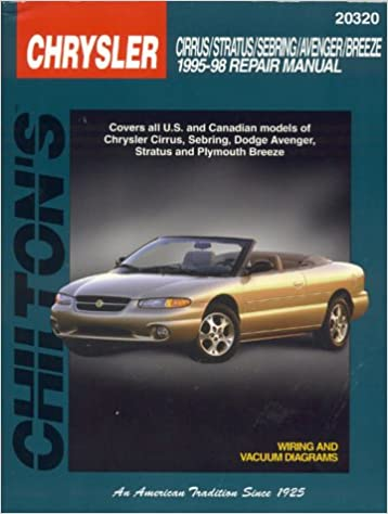 Chrysler cirrus stratus sebring avenger and breeze 1995 98 chrysler cirrus stratus sebring avenger and breeze 1995 98 chilton total car care series manuals 1st edition fandeluxe Gallery