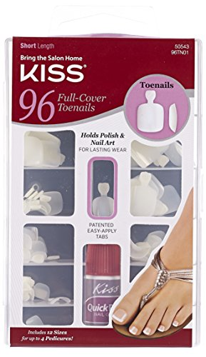 Kiss Products Full Cover Toenails, 96