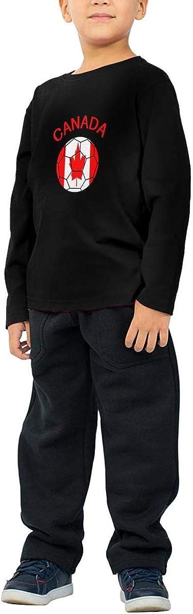 CERTONGCXTS Childrens Canada Soccer ComfortSoft Long Sleeve Tee