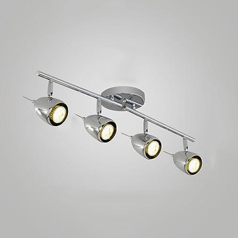ZHP & lamparas Nordic Modern Minimalist Track Lámpara de ...