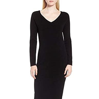 Nordstrom Signature Cashmere Knit Dress Large At Amazon Womens