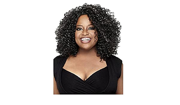 Amazon.com : Woman Wigs Little Curly Hair Comfortable Real Daily Light Black Brown Golden Fluffy Short Curly Hair Chemical Fiber Wig Wigs Travel By ZPR.